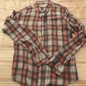 Obey long sleeve button down